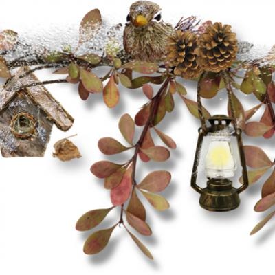 Lanterne neige 1